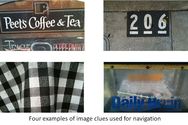Example navigation clues